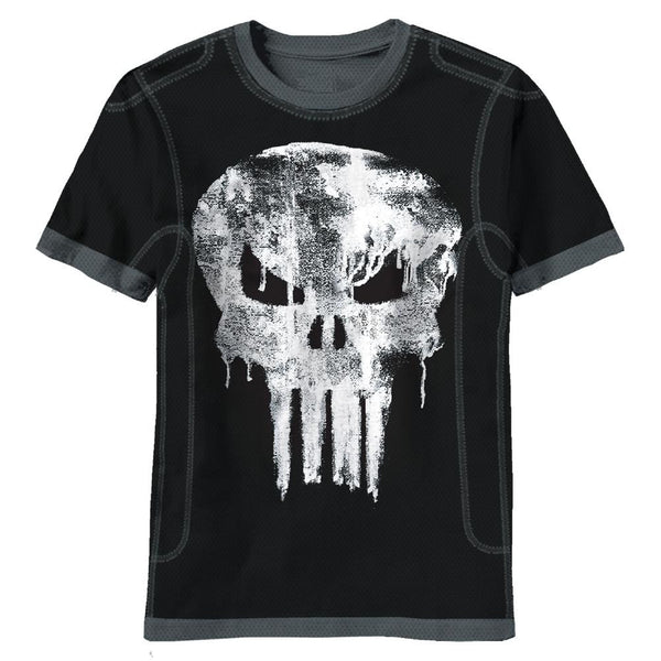 The Punisher - Dripped Skull Soft T-Shirt