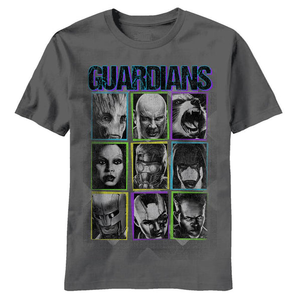 Guardian of the Galaxy - Face Slide Youth T-Shirt
