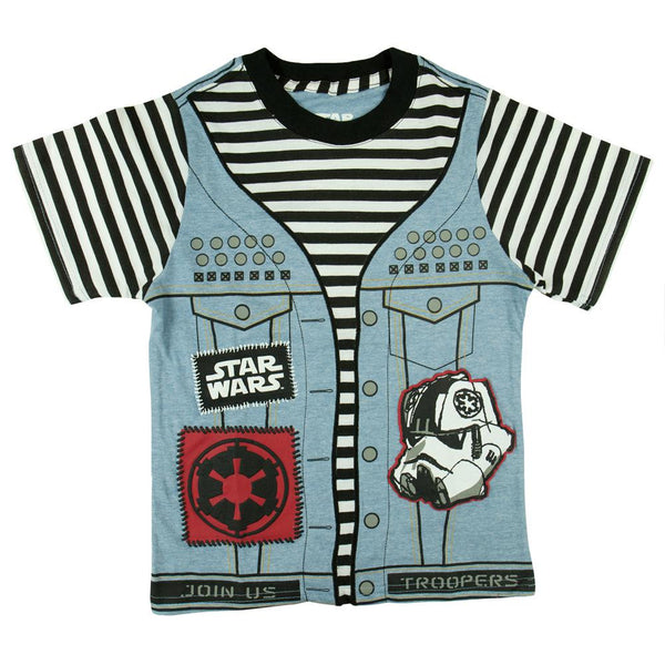 Star Wars - Punk Vader Juvy Costume T-Shirt