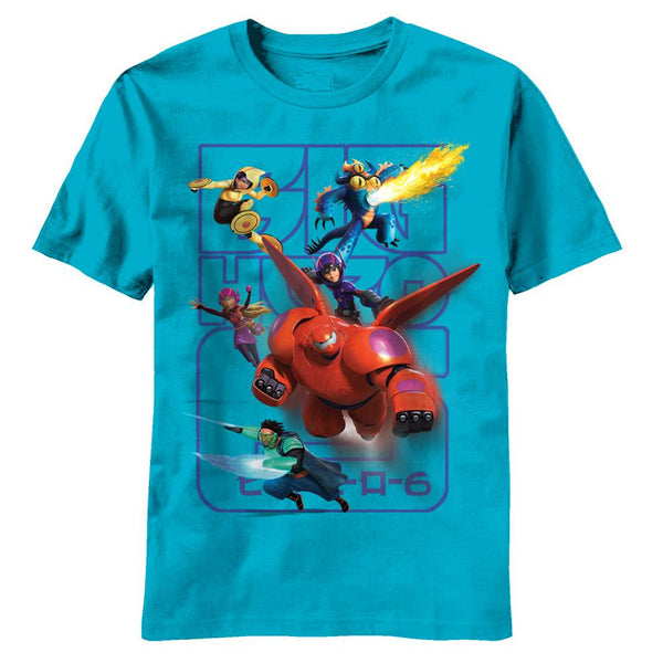 Big Hero 6 - Powers Juvy T-Shirt