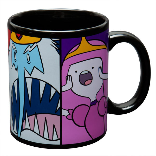 Adventure Time - Characters Fight Coffee Mug