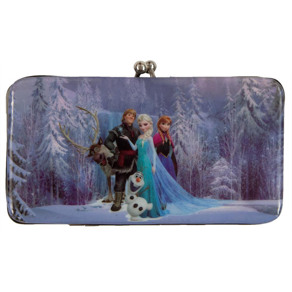 Frozen - Group Shot Reverisble Kiss Lock Wallet