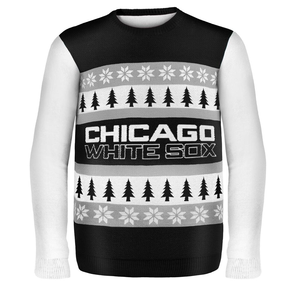 half off c3f9f 95b14 Chicago White Sox - One Too Many Ugly Christmas Sweater