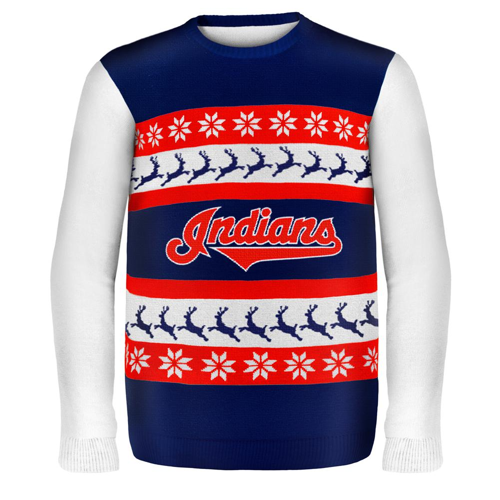 Cleveland Indians - One Too Many Ugly Christmas Sweater – OldGlory.com