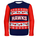 Atlanta Hawks - One Too Many Ugly Christmas Sweater