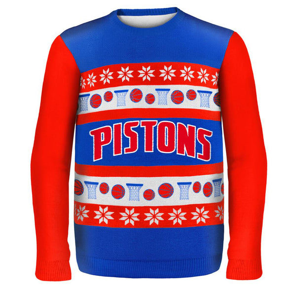 Detroit Pistons - One Too Many Ugly Christmas Sweater