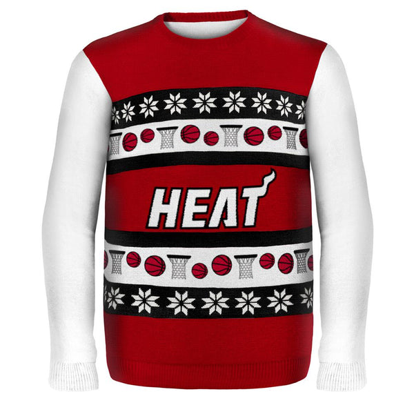 Miami Heat - One Too Many Ugly Christmas Sweater