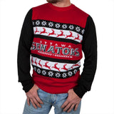 Ottawa Senators - One Too Many Ugly Christmas Sweater