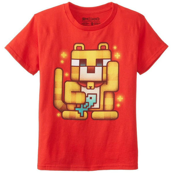Minecraft - Lucky Ocelot Youth T-Shirt