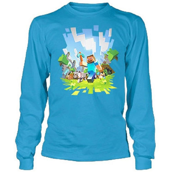 Minecraft - Adventure Youth Long Sleeve