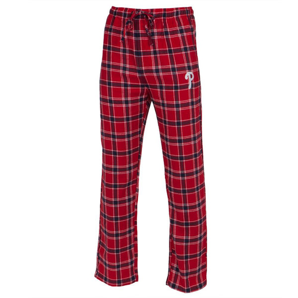 Philadelphia Phillies - Logo Plaid Lounge Pants