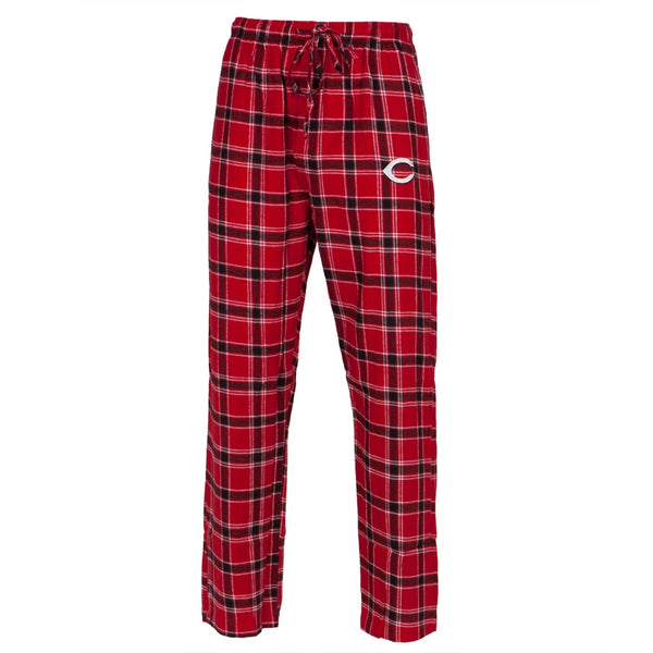 Cincinnati Reds - Logo Plaid Lounge Pants