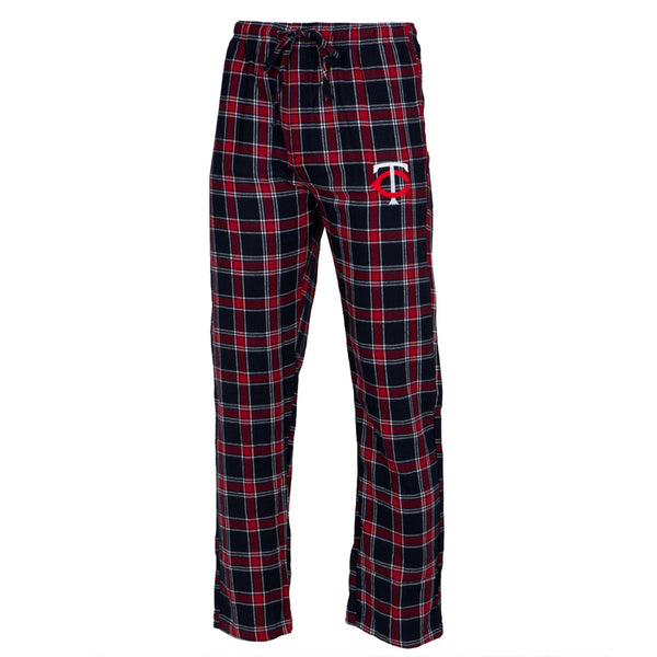 Minnesota Twins - Logo Plaid Lounge Pants