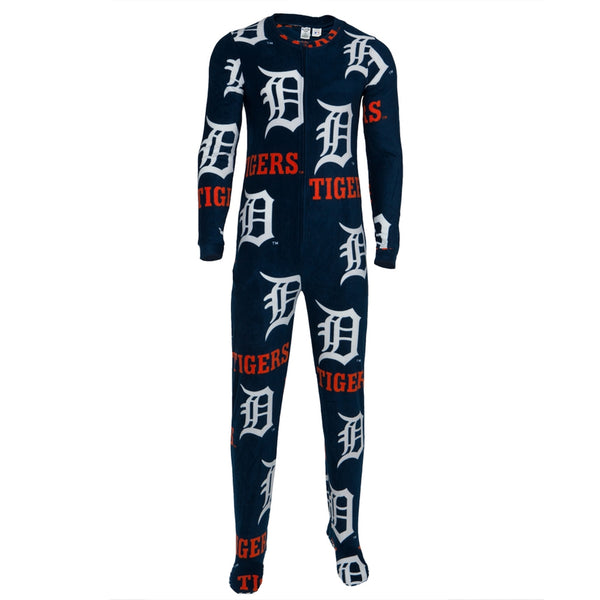 Detroit Tigers - Logo All-Over Union Suit