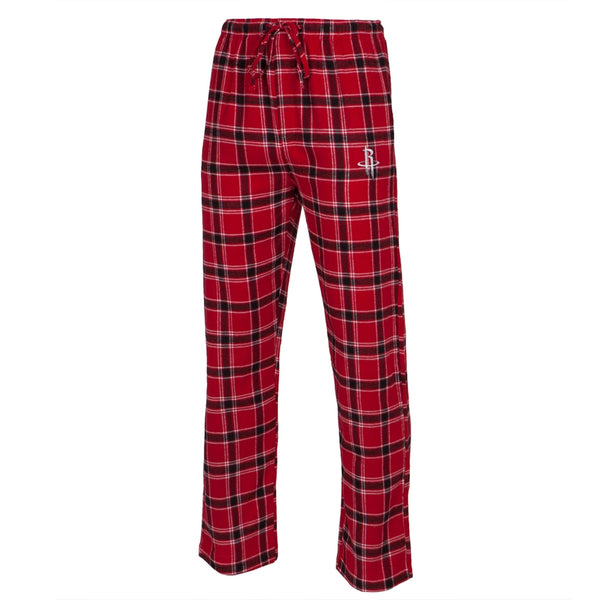 Houston Rockets - Logo Plaid Lounge Pants
