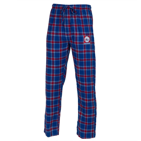 Philadelphia 76ers - Logo Plaid Lounge Pants