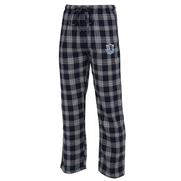 Dallas Mavericks - Logo Plaid Lounge Pants