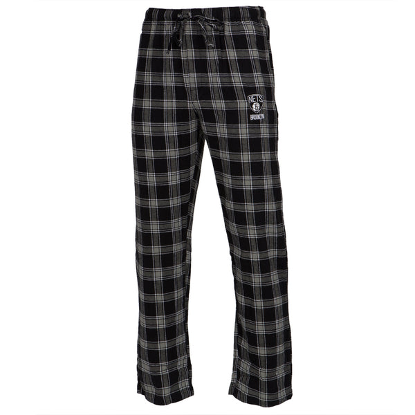 Brooklyn Nets - Logo Plaid Lounge Pants