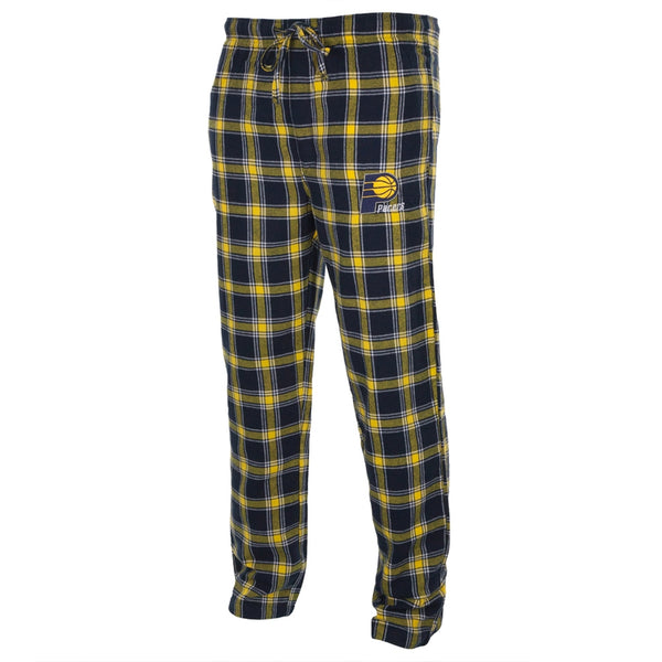 Indiana Pacers - Logo Plaid Lounge Pants