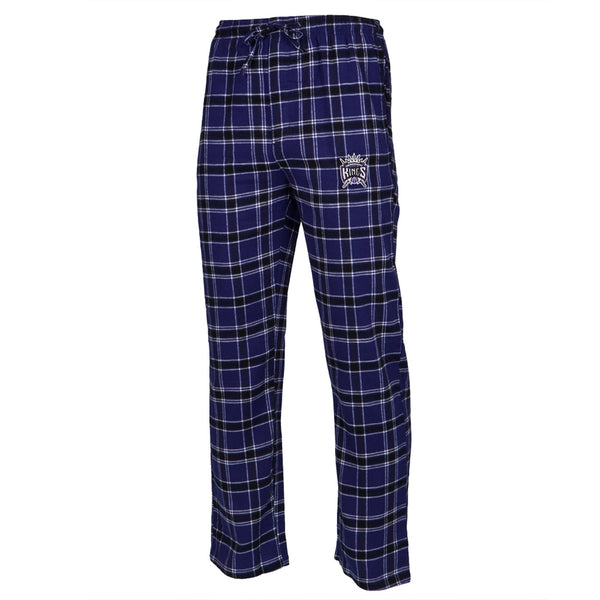 Sacramento Kings - Logo Plaid Adult Lounge Pants