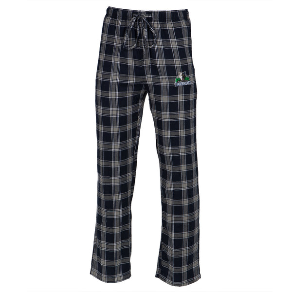 Minnesota Timberwolves - Logo Plaid Lounge Pants