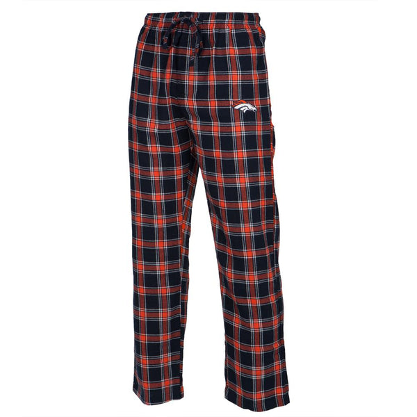 Denver Broncos - Logo Plaid Lounge Pants