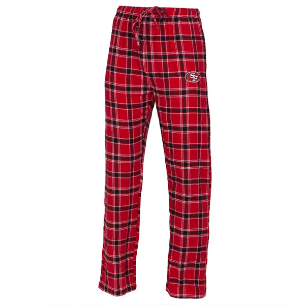 San Francisco 49ers - Logo Plaid Lounge Pants