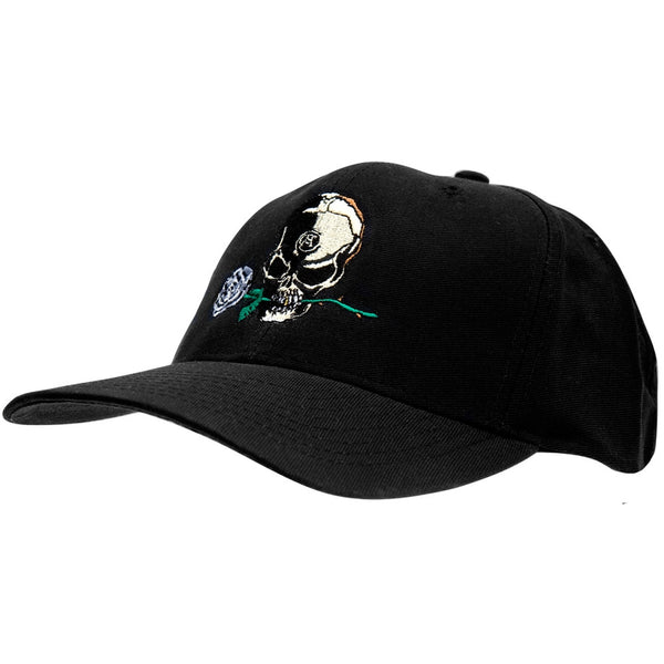 Alchemy - Silver Rose - Baseball Cap  Black