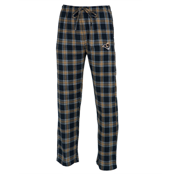 St. Louis Rams - Logo Plaid Lounge Pants