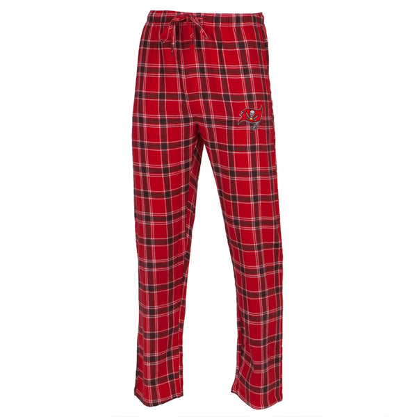Tampa Bay Buccaneers - Logo Plaid Lounge Pants