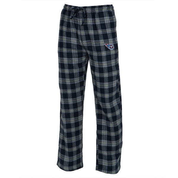 Tennessee Titans - Logo Plaid Lounge Pants