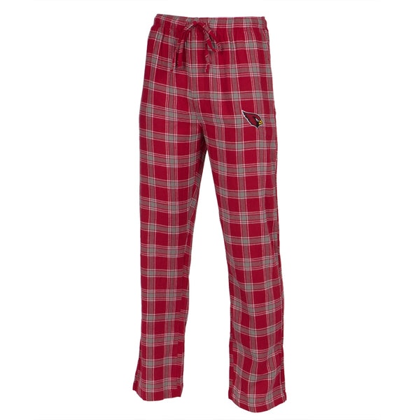Arizona Cardinals - Logo Plaid Lounge Pants