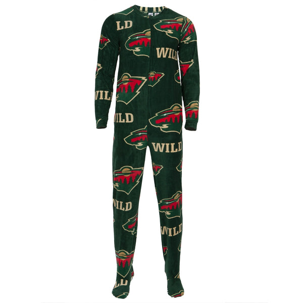 Minnesota Wild - Logo All-Over Union Suit
