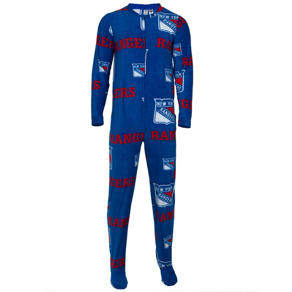 New York Rangers - Logo All-Over Union Suit