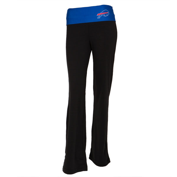 Buffalo Bills - Flip Down Waistband Logo Juniors Yoga Pants