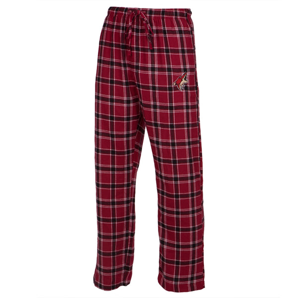Phoenix Coyotes - Logo Plaid Lounge Pants