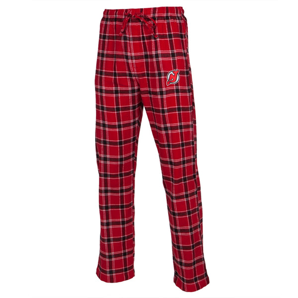 New Jersey Devils - Logo Plaid Lounge Pants