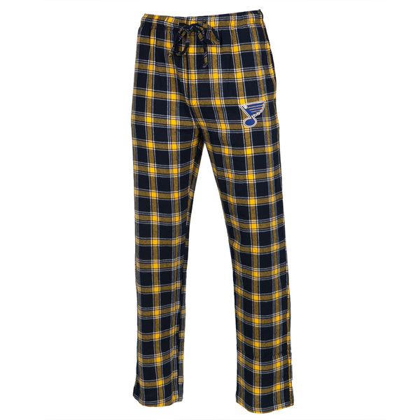 St. Louis Blues - Logo Plaid Lounge Pants
