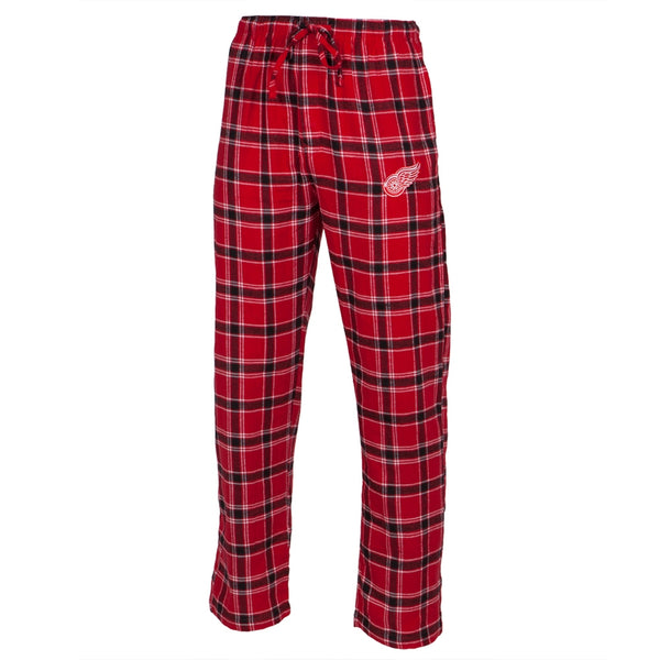 Detroit Red Wings - Logo Plaid Lounge Pants