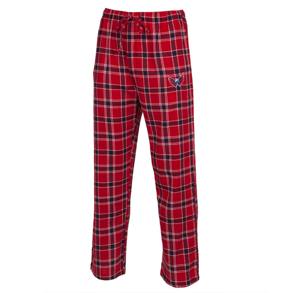 Washington Capitals - Logo Plaid Lounge Pants