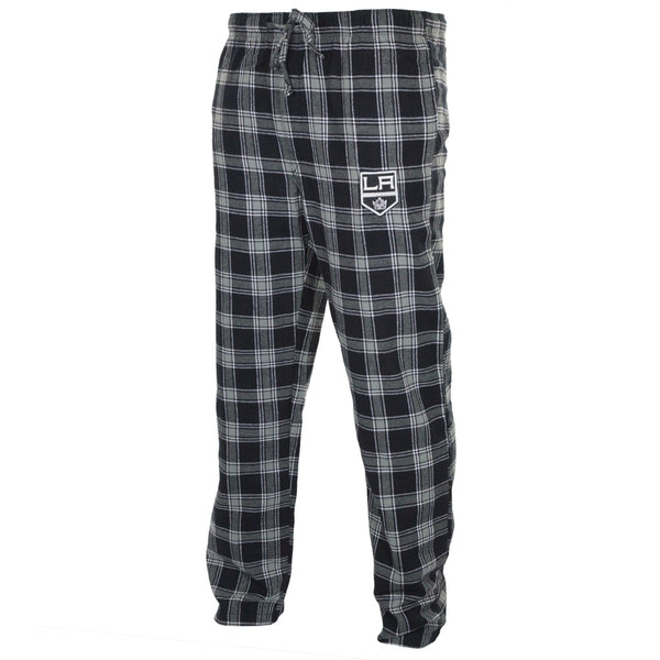 Los Angeles Kings - Logo Plaid Lounge Pants