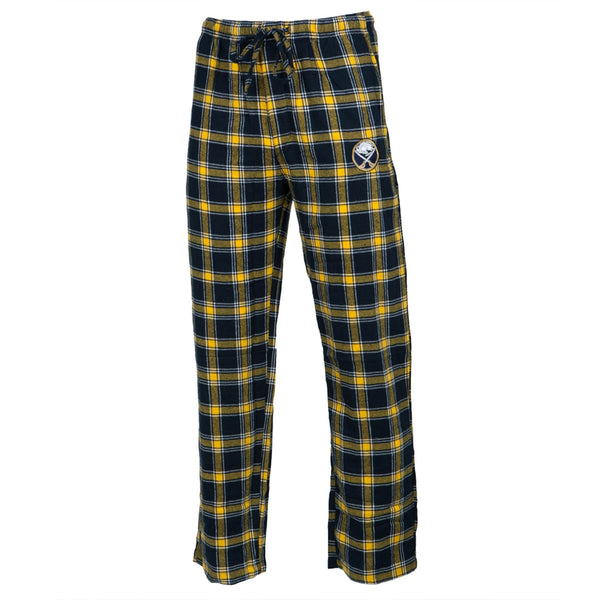 Buffalo Sabres - Logo Plaid Lounge Pants