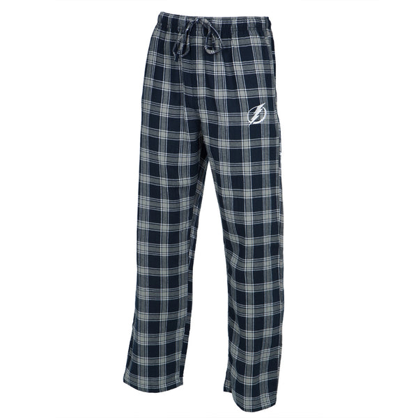 Tampa Bay Lightning - Logo Plaid Lounge Pants