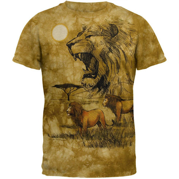 Lion Roar Tie Dye T-Shirt