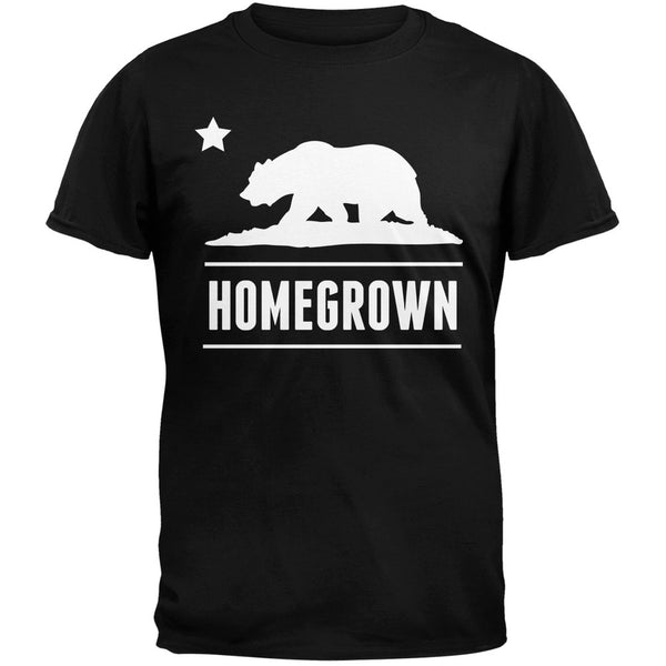 California Republic Homegrown Black T-Shirt