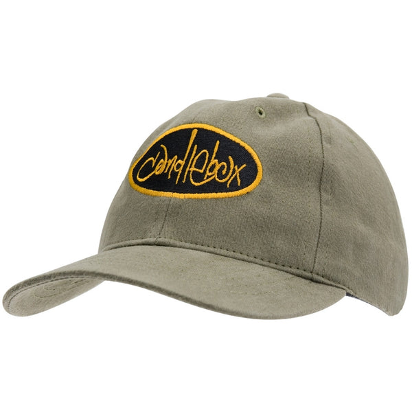 Candlebox - Black & Yellow Logo - Baseball Cap - Tan
