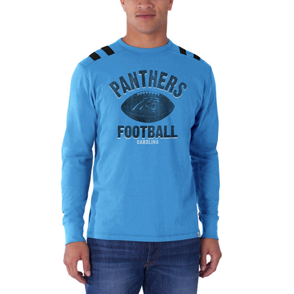 Carolina Panthers - Football Logo Bruiser Premium Long Sleeve T-Shirt
