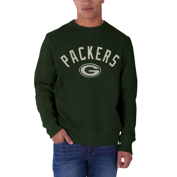 Green Bay Packers - Logo Cross Check Premium Crewneck Sweatshirt