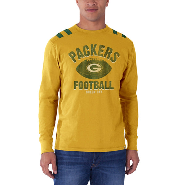 Green Bay Packers - Football Logo Bruiser Premium Long Sleeve T-Shirt