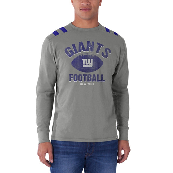 New York Giants - Football Logo Bruiser Premium Long Sleeve T-Shirt